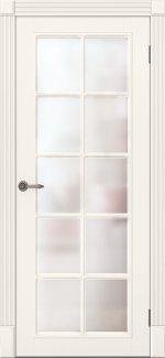 Двери Ницца ПОО Amore Classic слоновая кость со стеклом