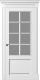 Двери Ницца ПО Прованс белые со стеклом