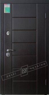 Входные двери Ника-М Білоруський Стандарт України венге південний 12 мм(полотно),16 мм(наличники)