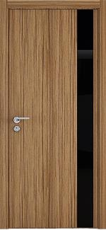 Межкомнатные двери Двері Амстердам НСД тік скло чорне
