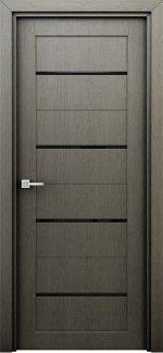 Межкомнатные двери Двери Орион Интерьерные Двери серые с молдингом