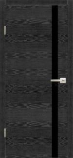 Межкомнатные двери Двері Орлеан НСД дуб графіт зі склом