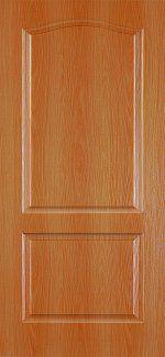 Двери Палитра 11-4 Интерьерные Двери миланский орех глухое