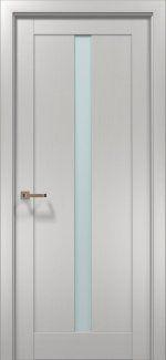 Межкомнатные двери Двери OPTIMA-01 Папа Карло клен белый со стеклом