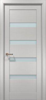 Межкомнатные двери Двери OPTIMA-02 Папа Карло клен белый со стеклом
