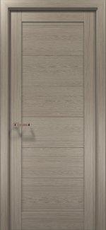 Межкомнатные двери Двери OPTIMA-03F Папа Карло клен серый глухое