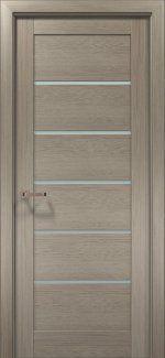 Межкомнатные двери Двери OPTIMA-04 Папа Карло клен серый со стеклом