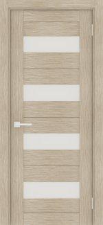 Двери Порта-23 капучино со стеклом