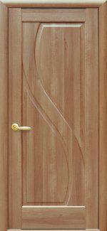 Двери Прима золотая ольха делюкс глухое