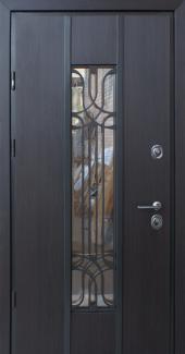 Входные двери Freedom Страж венге темный