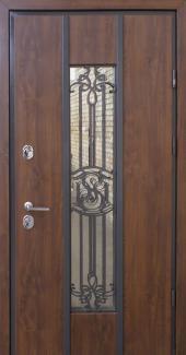 Входные двери Nominal Страж орех натуральный
