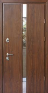 Входные двери Rio SL Страж орех натуральный