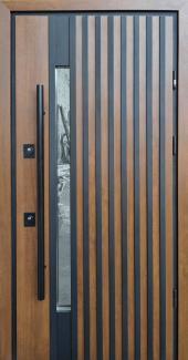 Входные двери Двері Страж Rio-Z Loft дуб темний