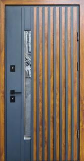 Входные двери Rio-Z Loft Страж дуб золотой