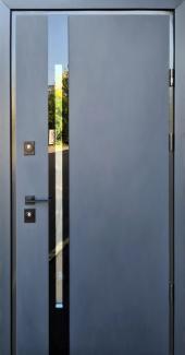 Входные двери Slim Z Страж антрацит