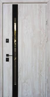 Входные двери Slim Z Страж дуб полярный