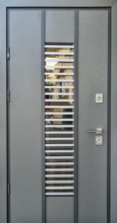 Входные двери Vespa Twin Страж серый лесной
