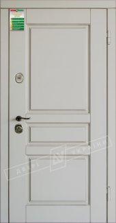 Входные двери Прованс-3 України білий супермат 12 мм(полотно),16 мм(наличники)