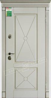 Входные двери Прованс-2 Deko України білий супермат 12 мм(полотно),16 мм(наличники)