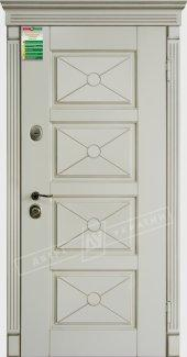 Входные двери Прованс-6 Deko України білий супермат 12 мм(полотно),16 мм(наличники)