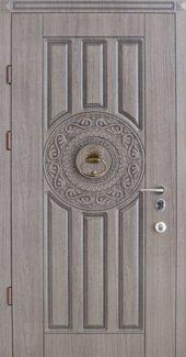 Двери Страж R36 Патина со Стучалкой