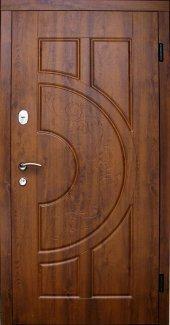 Входные двери Двери Redfort Рассвет улица золотой дуб улица (пвх-90)
