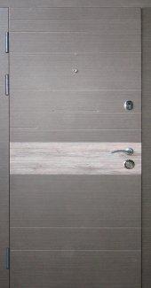 Двери Redfort Тифани квартира венге серый продольный+дуб вулканический
