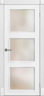 Межкомнатные двери Двери Рим ПОО Amore Classic Омега белый мат со стеклом