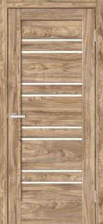 Двері Rino-01 дуб оріндж скло Сатін