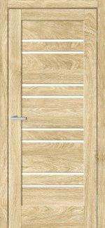 Двері Rino-01 дуб саванна скло Сатін