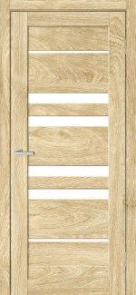 Двері Rino-06 дуб саванна скло Сатін