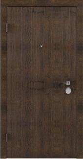 Входные двери BAZ 001 Rodos акация темная 12 мм(внутренняя),12 мм(наружная)