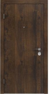 Входные двери BAZ 001 Rodos дуб темный 12 мм(внутренняя),12 мм(наружная)