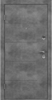 Входные двери BAZ 002 Rodos бетон наружный 12 мм(внутренняя),12 мм(наружная)
