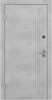 Входные двери BAZ 004 Rodos бетон бежевый 12 мм(внутренняя),12 мм(наружная)