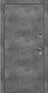Входные двери BAZ 004 Rodos бетон наружный 12 мм(внутренняя),12 мм(наружная)