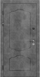 Входные двери LNZ 003 Rodos бетон наружный 12 мм(внутренняя),16 мм(наружная)