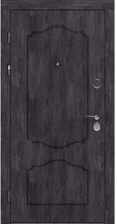 Входные двери LNZ 003 Rodos дуб шале графит 12 мм(внутренняя),16 мм(наружная)