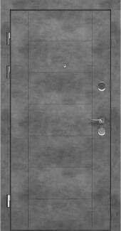 Входные двери LNZ 004 Rodos бетон наружный 12 мм(внутренняя),16 мм(наружная)