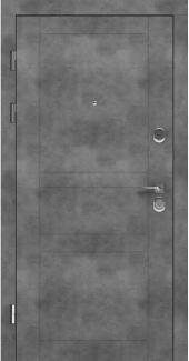 Входные двери LNZ 007 Rodos бетон наружный 12 мм(внутренняя),16 мм(наружная)