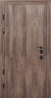 Входные двери Двери Rodos PRZ 001 дуб коньяк синхро