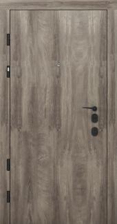 Входные двери Двери Rodos PRZ 001 дуб ясный синхро