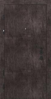 Входные двери Двери Rodos PRZ 001 винтажный дуб темный