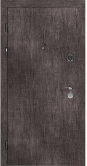 Входные двери STZ 001 Rodos винтажный дуб серый 16 мм(внутренняя),16 мм(наружная)