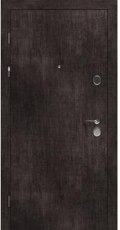 Входные двери STZ 001 Rodos винтажный дуб темный 16 мм(внутренняя),16 мм(наружная)