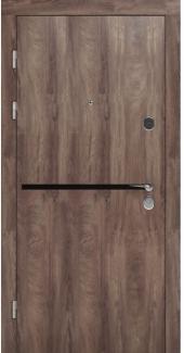 Входные двери STZ 002 Rodos дуб коньяк синхро 16 мм(внутренняя),16 мм(наружная)