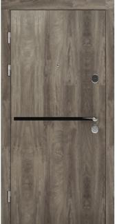 Входные двери STZ 002 Rodos дуб ясный синхро 16 мм(внутренняя),16 мм(наружная)