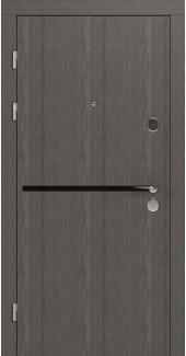 Входные двери STZ 002 Rodos флитвуд лава SC 16 мм(внутренняя),16 мм(наружная)