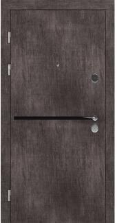 Входные двери STZ 002 Rodos винтажный дуб серый 16 мм(внутренняя),16 мм(наружная)
