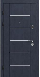 Входные двери STZ 003 Rodos бетон антрацит 16 мм(внутренняя),16 мм(наружная)